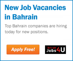 JOBS VACANCIES IN BAHRAIN